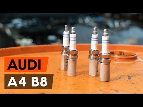 Как заменить свечи зажигания на AUDI A4 B8 Седан [ВИДЕОУРОК AUTODOC]