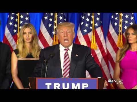 Donald Trump FULL Speech: 'I'm Going to Be America's Champion'