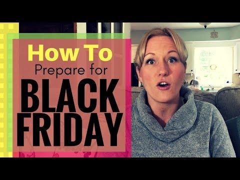 HOW I PREPARE for BLACK FRIDAY