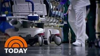 Hospitals Overwhelmed As Coronavirus Cases Surpass 100,000 In US   TODAY