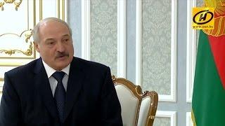 Александр Лукашенко встретился Чрезвычайным и Полномочным Послом Армении