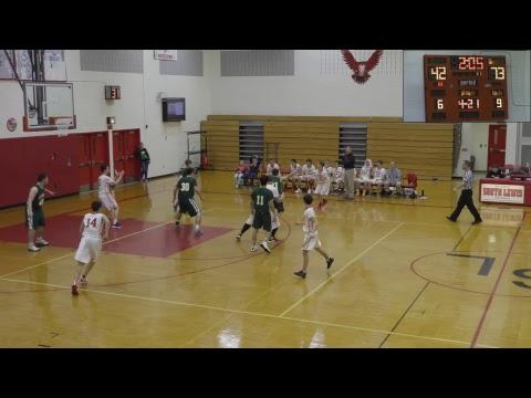 Lyme vs South Lewis High School Boys Varsity Basketball