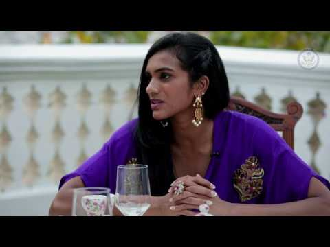 When women do well, nations do better. P V Sindhu talks to U.S.Consul General Katherine Hadda