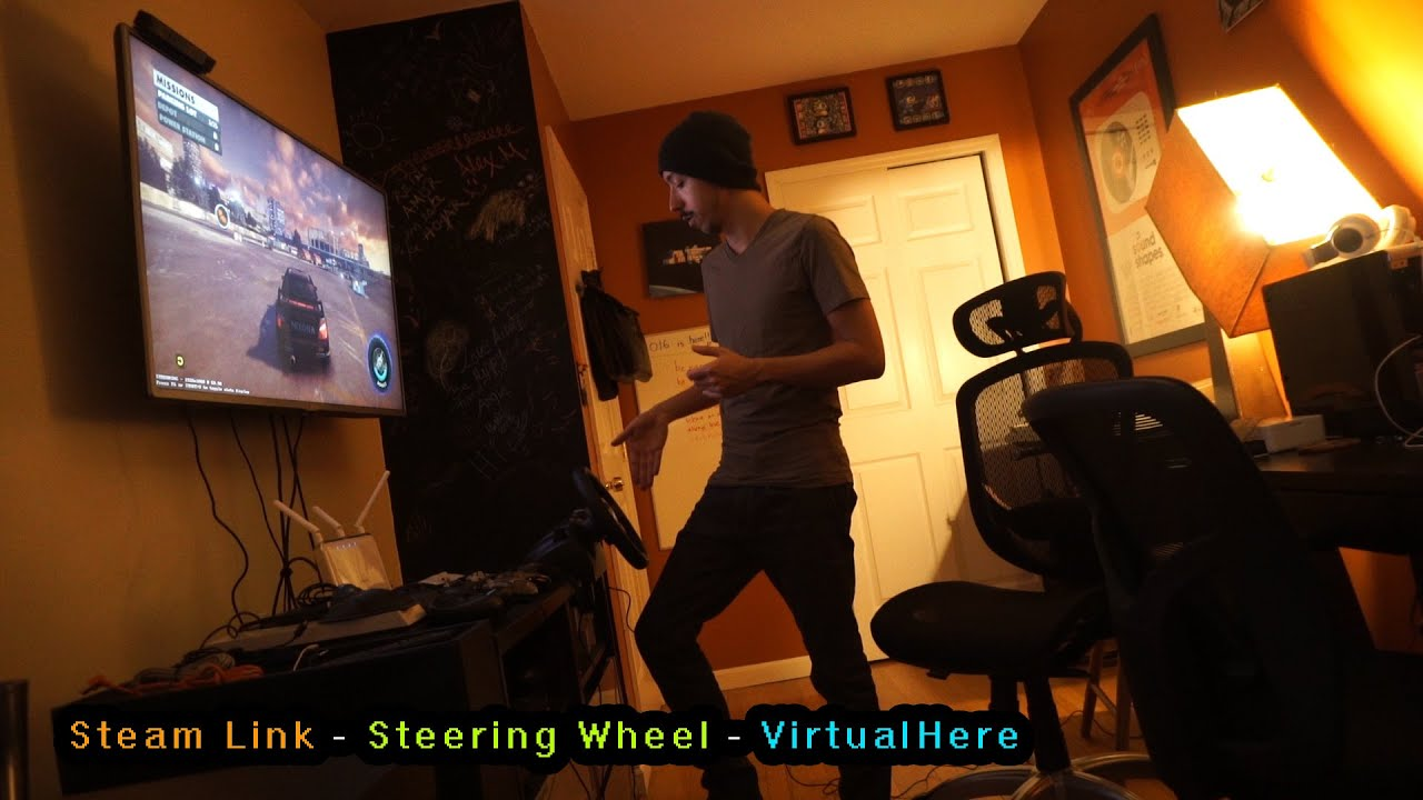 Steam Link - Steering wheel working with VirtualHere