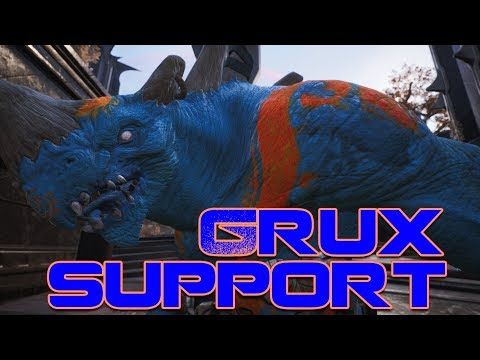 Paragon : Grux Support | Full Match Gameplay