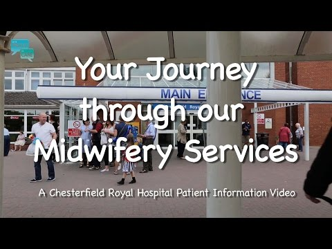 Your Pregnancy & Birth Pathway at the Chesterfield Royal Hospital 2017