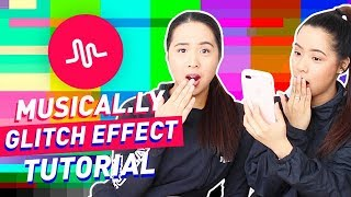 Musical.ly Glitch Effect Tutorial! | The Caleon Twins