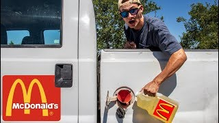We Put McDonald's Fry Grease In a DIESEL TRUCK!