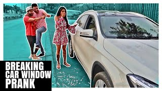 Breaking Car Window PRANK | Pranks in India | Rimorav Vlogs