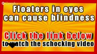 Floaters In Eye What Causes Blindness