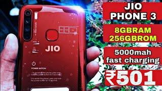 JIO PHONE 3 UNBOXING Technical guruji || book buy jio phone 3 |Jio phone 3 kaise book kre launch📱🔥