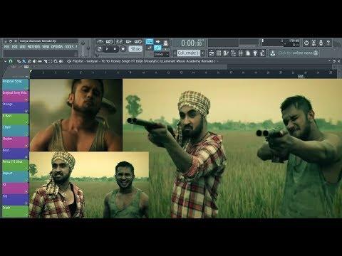 How to Produce Goliyan by Yo Yo Honey Singh Ft Diljit Dosanjh in FL Studio .