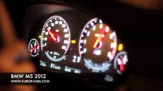 BMW M5 2012 TEST Drive