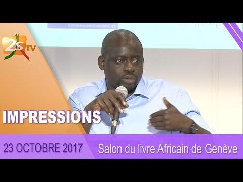 IMPRESSIONS DU 23 OCTOBRE 2017 : SALON DU LIVRE AFRICAIN DE GENÈVE