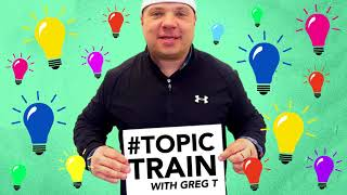 The 2017 Topic Train | Greg T's Topic Train