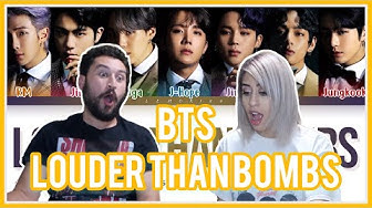 BTS -  LOUDER THAN BOMBS REACTION