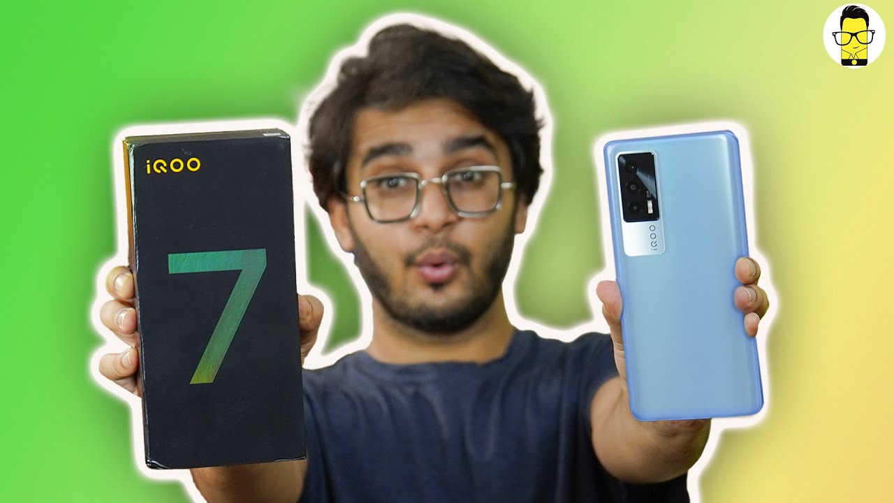 iQOO 7 5G ⚡️⚡️⚡️ Unboxing & First Look | Price in India Starts at Rs. 31,990