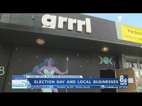 Some Las Vegas businesses board up, others business as usual ahead of possible election unrest