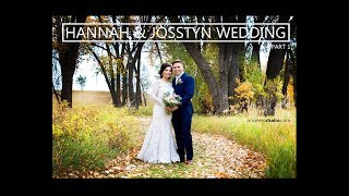Hannah & Josstyn wedding Part 1, St. Anne Church, Bismarck Event Center ND by pricelessstudio.com