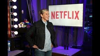 Ellen's Hilarious Netflix Promo Blooper