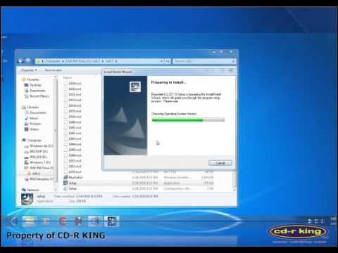 Procedure on how to install TM 1040 Tiny Bluetooth Dongle in Windows 7