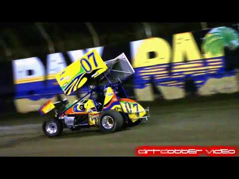 Winged Sprints East Bay Raceway Park 11/25/17