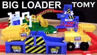 Tomy Big Loader Motorized dump truck from Tomica trucks and cars toy review Blucollection