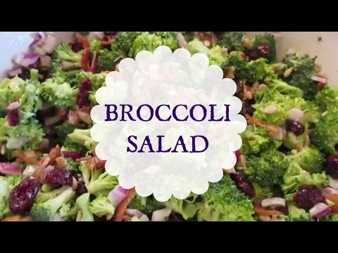 BROCCOLI SALAD -- #1 Salad At The Party!