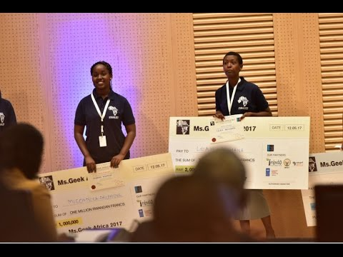 MISS GEEK AFRICA 2017: MEET 1st & 2nd  RUNNER UP