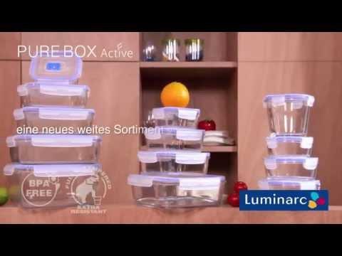 Контейнеры для хранения и приготовленя пищи Luminarc®