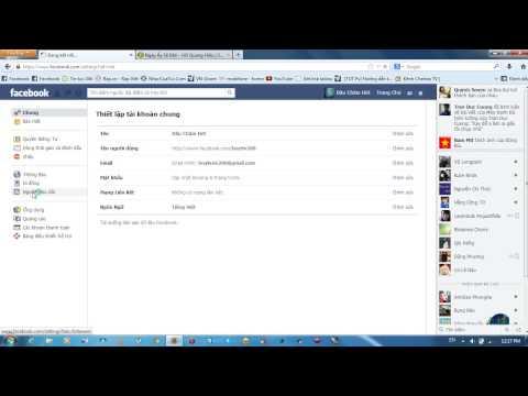 mở theo dõi trên facebook