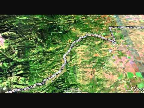 how to create a trail with google earth