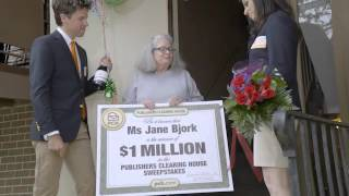 PCH April 29th $1 Million Winner - Jane Bjork