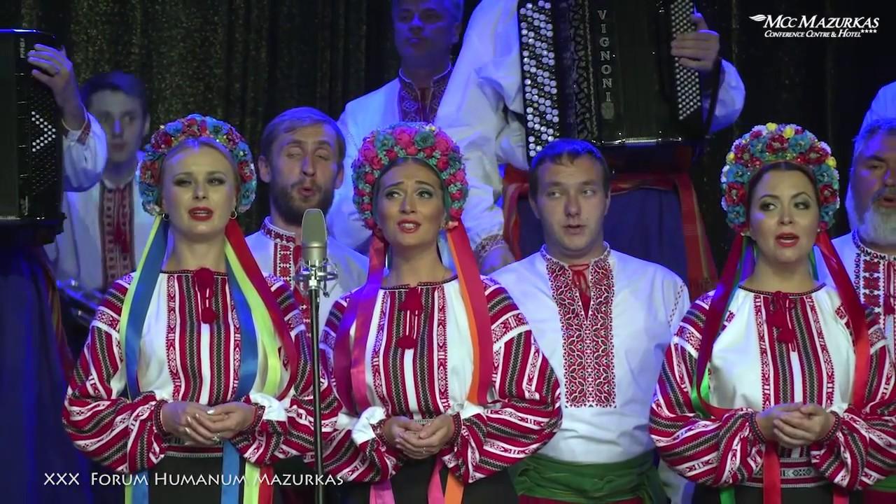 """XXX FHMazurkas-Narodowy Chór Ukrainy im.G.G.Wierowki""""-hymn Ukrainy """"Boże... chroń Ukrainę"""""""