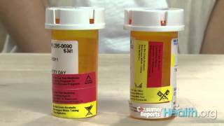 Understanding prescription drug labels