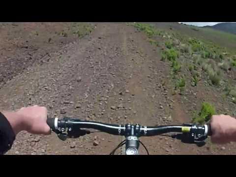 Maui Downhill Mountain Bike Trail, Haleakala National Park, Part 1