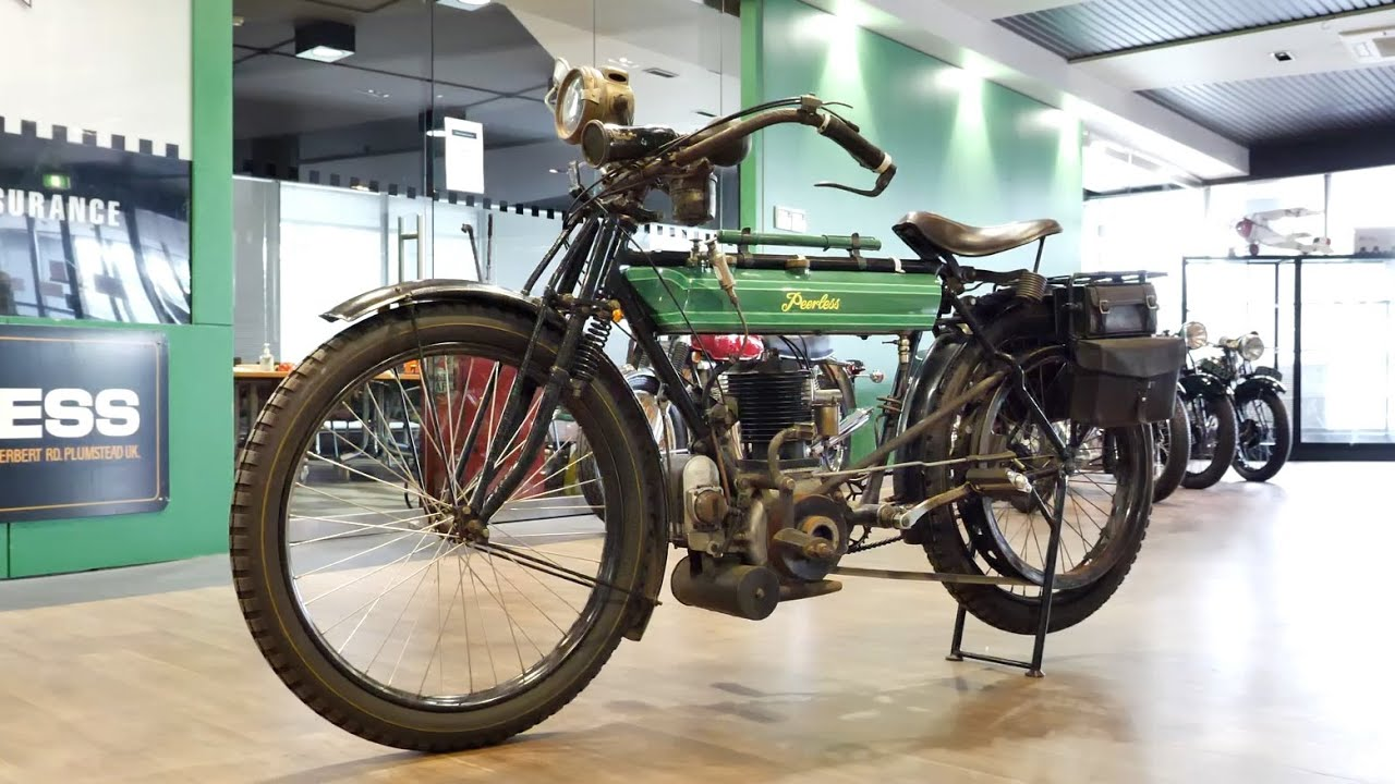 1912 Peerless 500cc Motorcycle - 2020 Shannons Winter Timed Online Auction