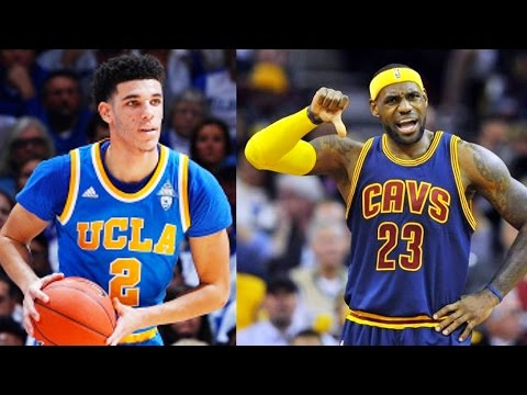 LeBron James Fights Lonzo Ball For Not Joining Cavaliers (Parody)