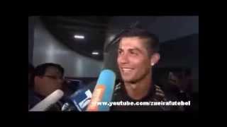 Repórter Chama Coentrão De Concentrão e Cristiano Ronaldo corrige. kkkkkkkkk