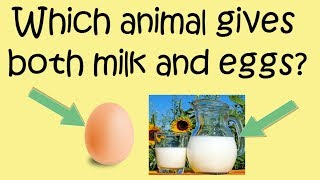 Current Affairs 23 September 2018  Which animal gives both milk and egg    Akshara Concepts
