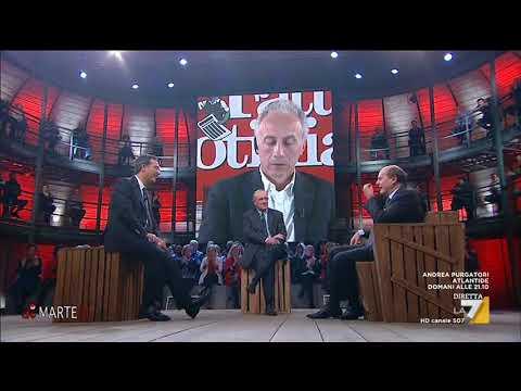 Pier Luigi Bersani si confronta con Massimo Franco e Marco Travaglio