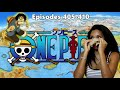 THIS CAN'T BE HAPPENING!? REALLY KUMA! | ONE PIECE REACTION EPISODES 405, 406, 407, 408, 409, 410