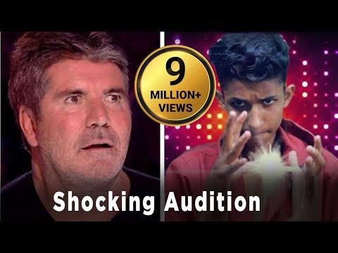 Nepali Boy At Britain Got Talent || Super Power Magic Boy ||  Ganesh GD