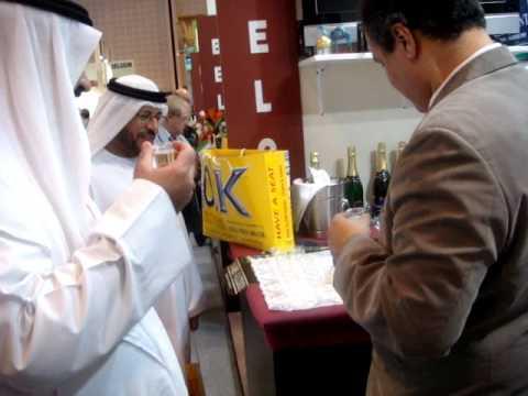 NIGHT ORIENT Sparkling Grape Drink-- Gulfood 2011 Dubai