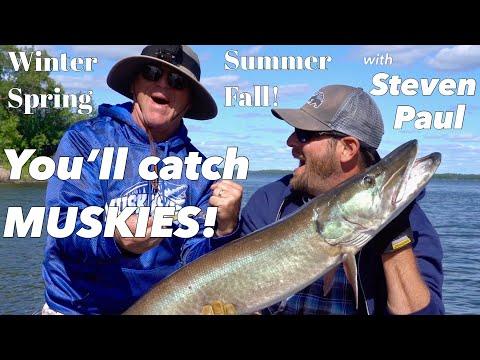 episode-14-|-winter,-spring,-summer-&-fall.-you'll-catch-muskies-with-steven-paul!-|-joe-bucher