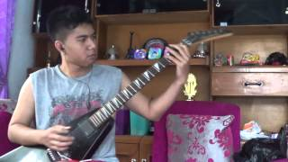 Kreator - Terror Zone (Guitar cover with solo)