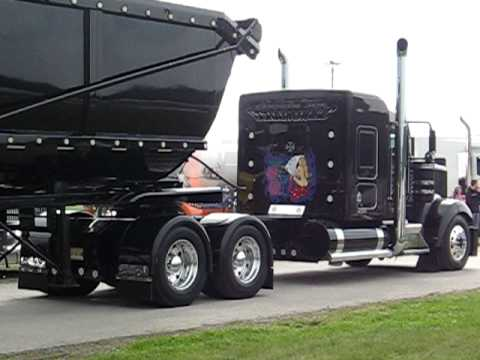 Kenworth W 900 With Dump Trailer Quot Guida Quot Youtube