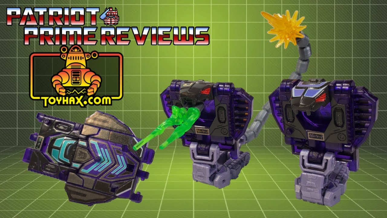 Patriot Prime Reviews Toyhax Decal Set for Earthrise Slitherfang and Firetox Upgrades