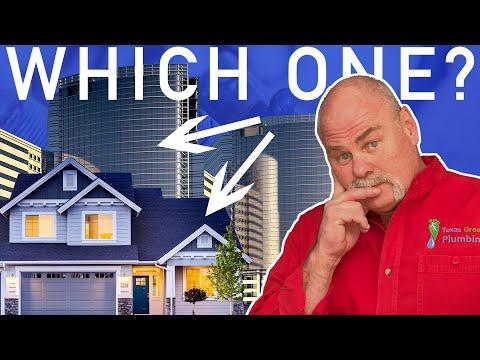 Residential Plumbing vs Commercial Plumbing