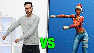 FORTNITE: Battle Royale BAILES in REAL LIFE CHALLENGE! Zoko